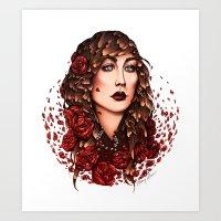 Disarray  Art Print