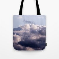 Purple skies Tote Bag