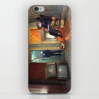 Static/Abduction iPhone & iPod Skin