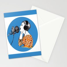 SINGING  Stationery Cards