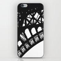 Eiffel Detail - Paris Ph… iPhone & iPod Skin