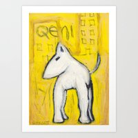 Qeni Art Print