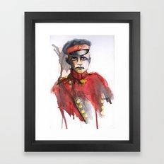 le petit Rouge (Little Red) Framed Art Print