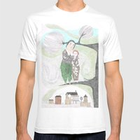 Birdies Mens Fitted Tee White SMALL