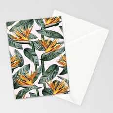 Bird Of Paradise Pattern #society6 #decor #buyart Stationery Cards