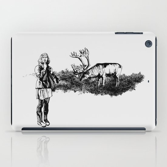 caribou iPad Case