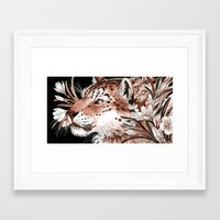 From Ice Framed Art Print