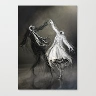 Glad Rags Canvas Print