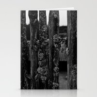 Weathered Pickets Stationery Cards