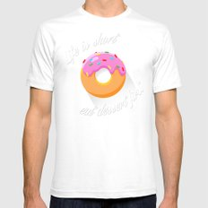 Dessert Mens Fitted Tee White SMALL