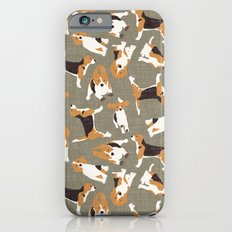 beagle scatter stone Slim Case iPhone 6s