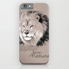 Lion (BornInNature) iPhone 6s Slim Case