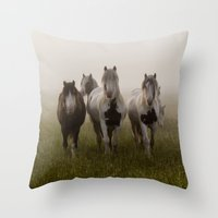 Curiosity II Throw Pillow