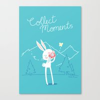 Collect Moments Canvas Print