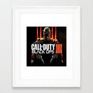 Call Of Duty  , Call Of … Framed Art Print