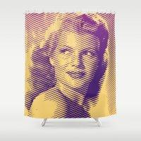 Rita Hayworth Shower Curtain