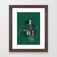 The Infinite Framed Art Print