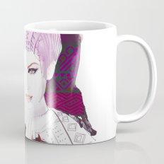 Ethno fashion illustration Mug