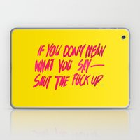 MEAN / Popart Version Laptop & iPad Skin