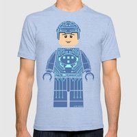 Tron Lego Mens Fitted Tee Tri-Blue SMALL