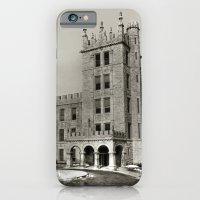 Northern Illinois University Castle - Black and White iPhone 6 Slim Case