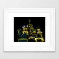 Saint Basil's Cathedral,… Framed Art Print