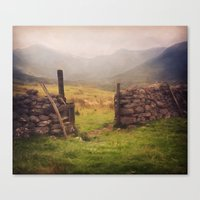 Ben Nevis Mountian range Canvas Print