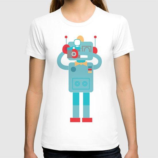 Robot loves Diana T-shirt