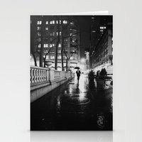 new york city Stationery Cards featuring New York City Noir by Vivienne Gucwa