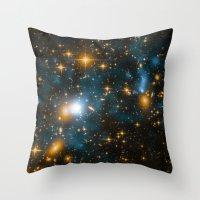 Cosmos 2, When Stars Col… Throw Pillow