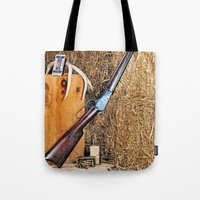 Winchester Rifle Tote Bag