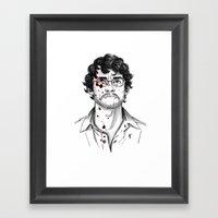 Will Graham - Hannibal T… Framed Art Print