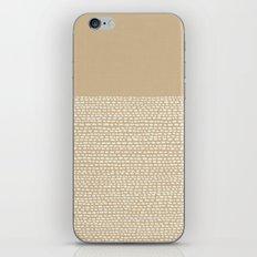Riverside - Sand iPhone & iPod Skin