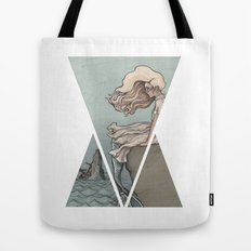 Evolution of a Mermaid Tote Bag