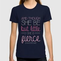 Fierce Womens Fitted Tee Navy SMALL