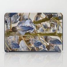 iced wisteria iPad Case