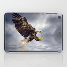 Young Bald Eagle Swooping iPad Case