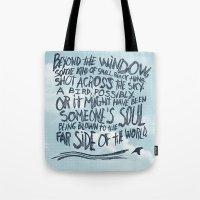 BIRD OR SOUL Tote Bag