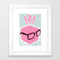 Brainbox Framed Art Print
