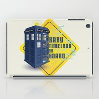 Doctor Who Tardis - Baby Timelord on Board iPad Case