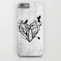 iPhone & iPod Case featuring under construction (black and white) by Seamless