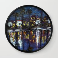Colonial Lake, Charlesto… Wall Clock
