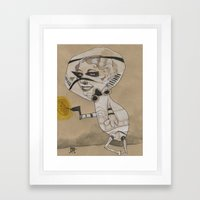 WHAT A TROOPER Framed Art Print