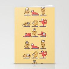 Sloth Yoga Stationery Cards