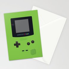 GAMEBOY Color - Green Stationery Cards