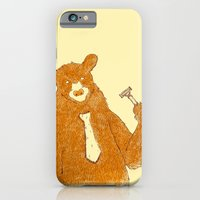 iPhone Cases featuring Office Bear by Tobe Fonseca