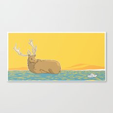 A deer (2) Canvas Print
