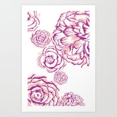 Bloom - Pink Art Print