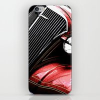 3 Alarm Red iPhone & iPod Skin
