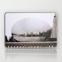 Snowy Bean Laptop & iPad Skin